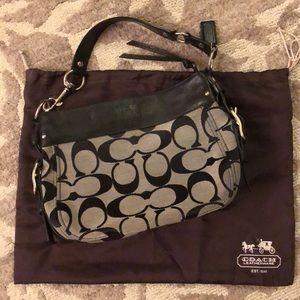Coach Zoe Signature Handbag